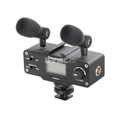 Mini Audio Adapter for DSLR and Camcorder