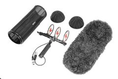 Professional Windshield and Suspension System for Shotgun Microphones