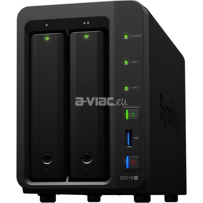 Synology DiskStation DS716+II - A-VIAC EU